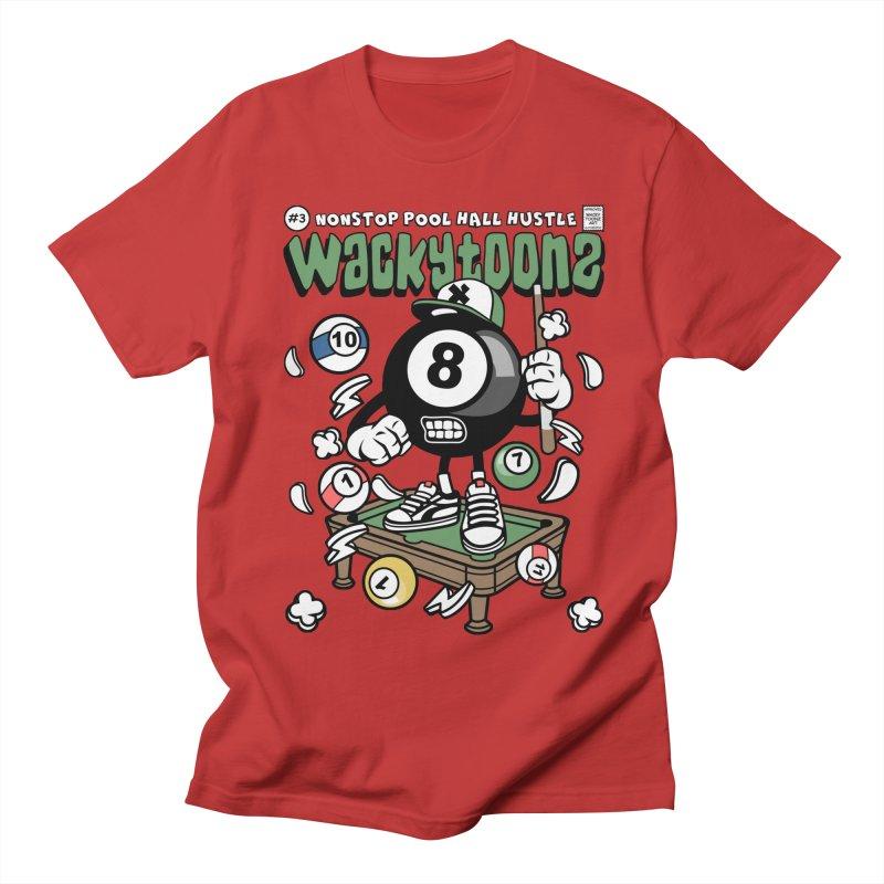 Nonstop Pool Hall Hustle Women's Regular Unisex T-Shirt by WackyToonz