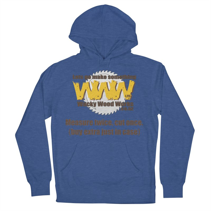 Buy Extra Men's Pullover Hoody by Wacky Wood Works's Shop