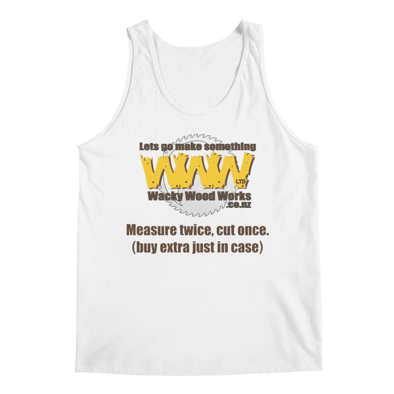 Buy Extra Men's Tank by Wacky Wood Works's Shop