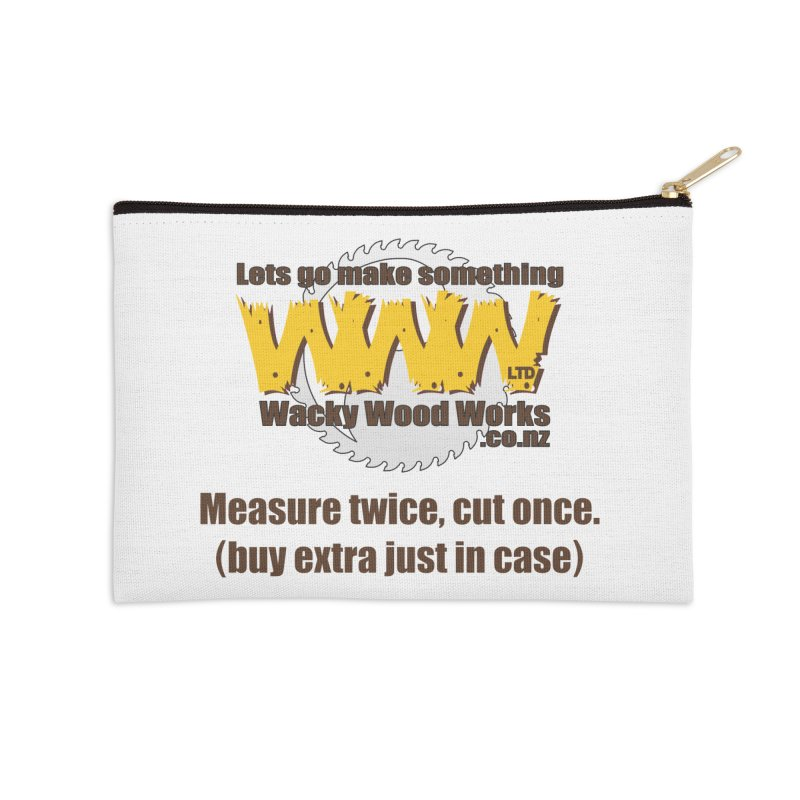 Buy Extra Accessories Zip Pouch by Wacky Wood Works's Shop