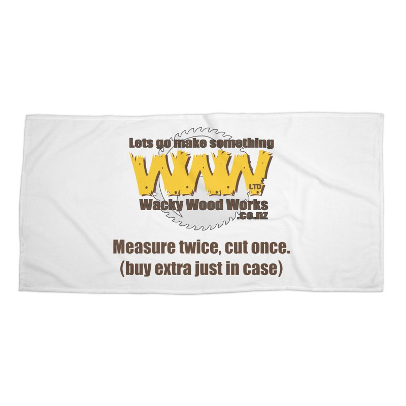 Buy Extra Accessories Beach Towel by Wacky Wood Works's Shop