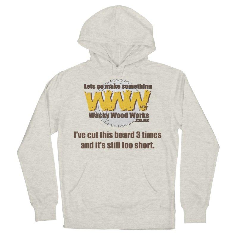 It's still to short Women's Pullover Hoody by Wacky Wood Works's Shop