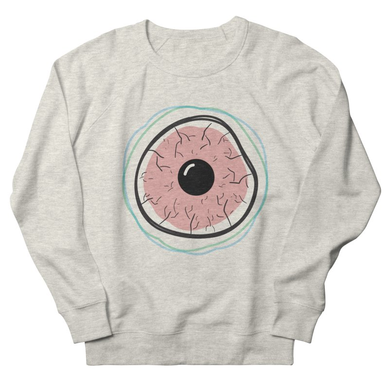 Red Eye Women's French Terry Sweatshirt by Brandon Waite - Artist Shop