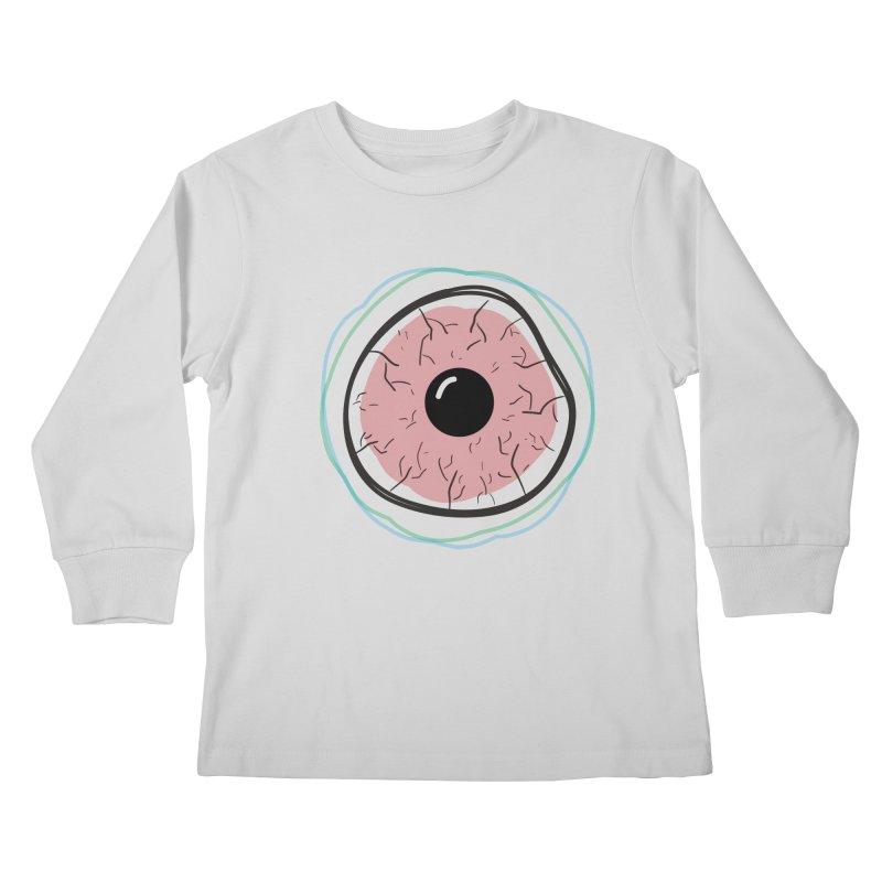 Red Eye Kids Longsleeve T-Shirt by Brandon Waite - Artist Shop