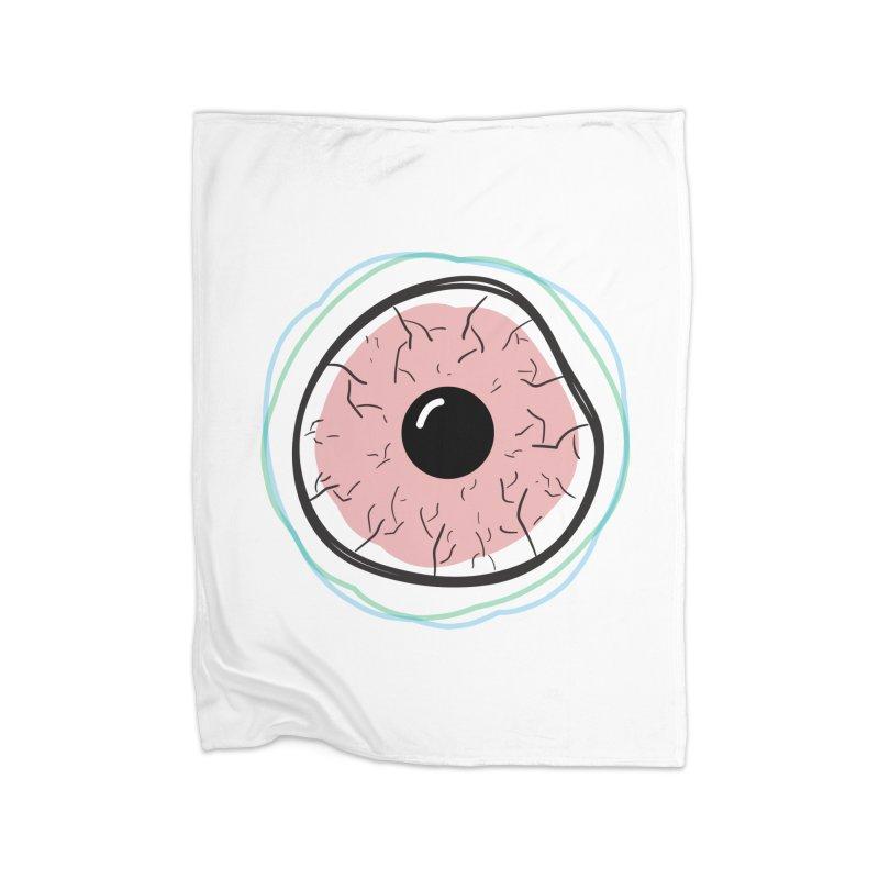Red Eye Home Blanket by Brandon Waite - Artist Shop