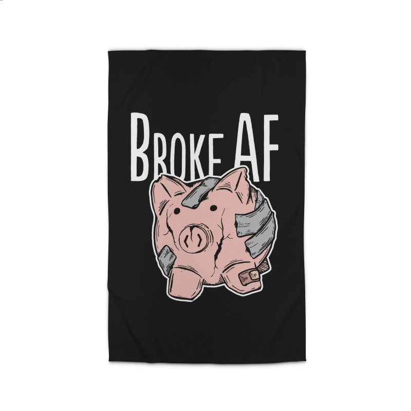 Broke AF Home Rug by Brandon Waite - Artist Shop