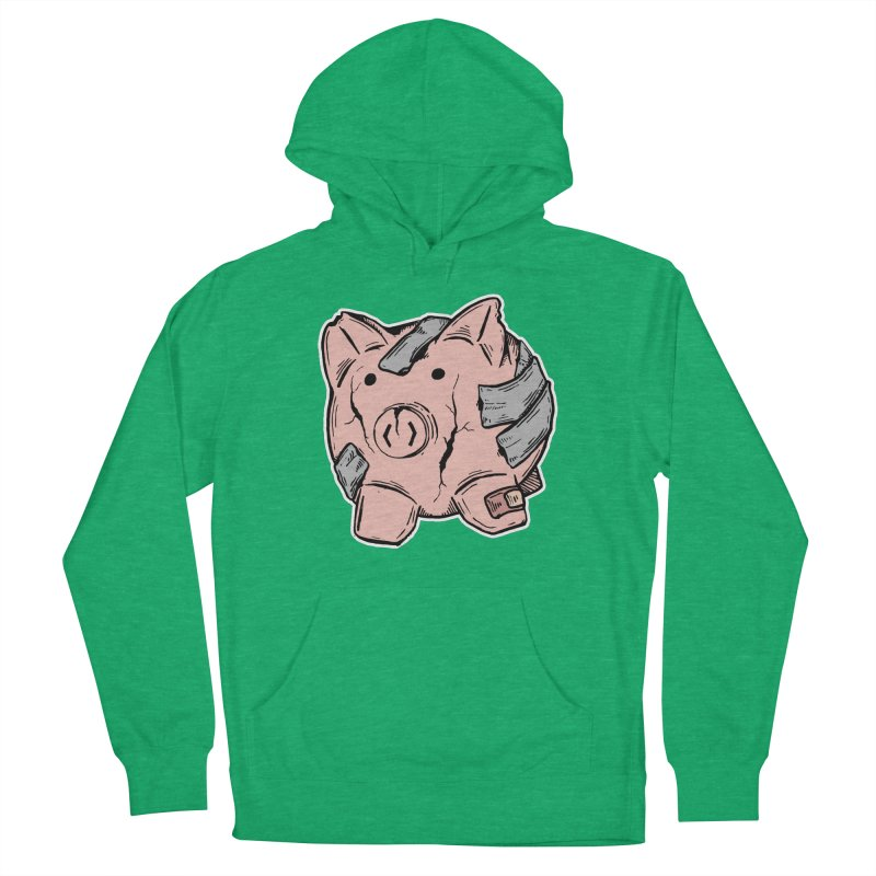 Broke AF Women's French Terry Pullover Hoody by Brandon Waite - Artist Shop