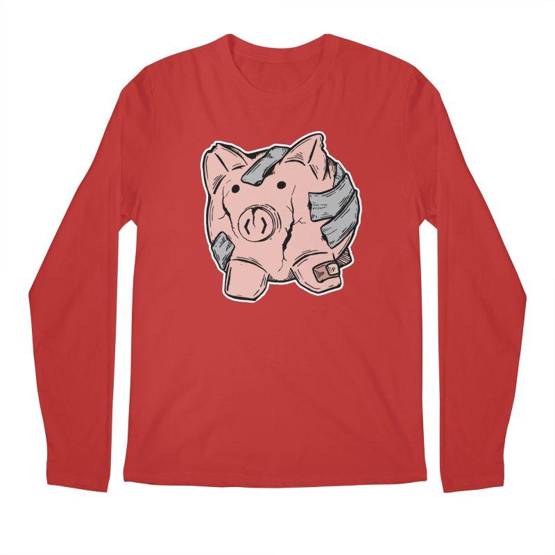 Broke AF Men's Regular Longsleeve T-Shirt by Brandon Waite - Artist Shop