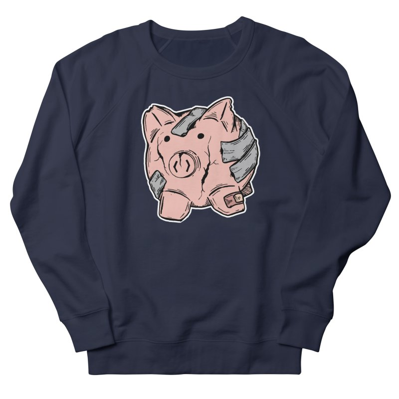 Broke AF Men's Sweatshirt by Brandon Waite - Artist Shop