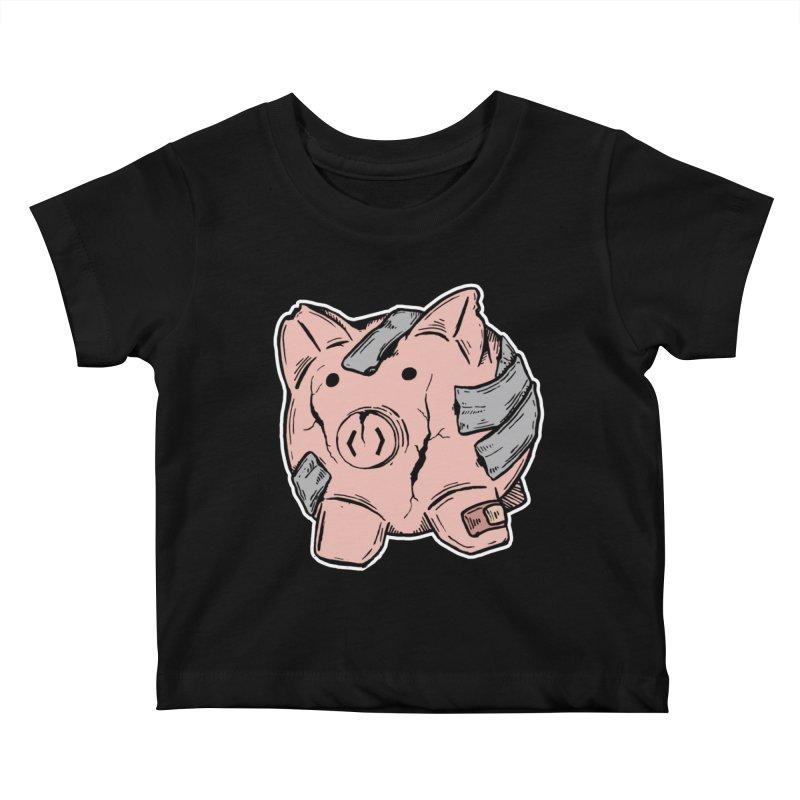 Broke AF Kids Baby T-Shirt by Brandon Waite - Artist Shop