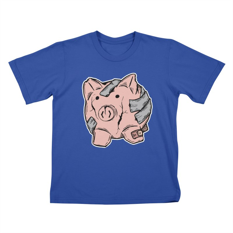 Broke AF Kids T-Shirt by Brandon Waite - Artist Shop