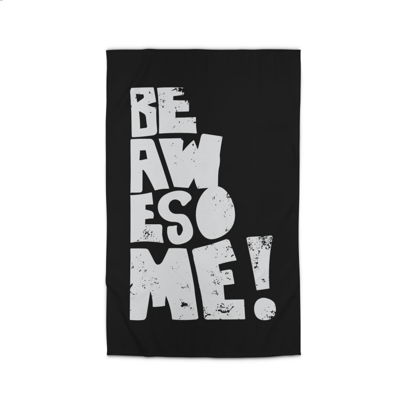 Be Awesome! Home Rug by Brandon Waite - Artist Shop