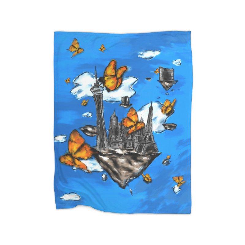 Life is Beautiful Home Blanket by Brandon Waite - Artist Shop
