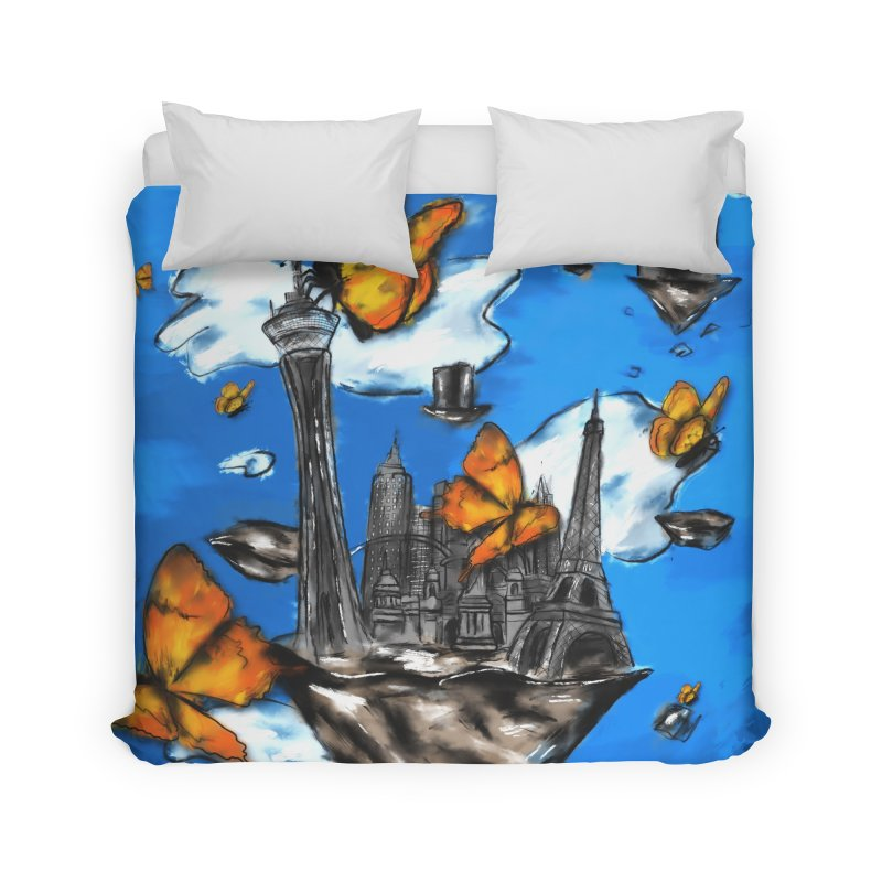 Life is Beautiful Home Duvet by Brandon Waite - Artist Shop