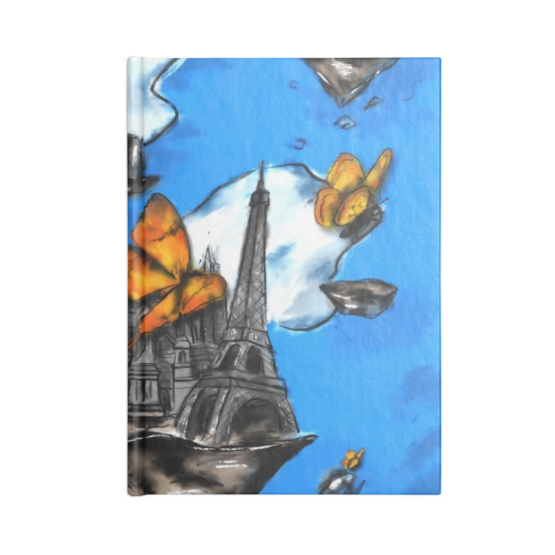 Life is Beautiful Accessories Blank Journal Notebook by Brandon Waite - Artist Shop