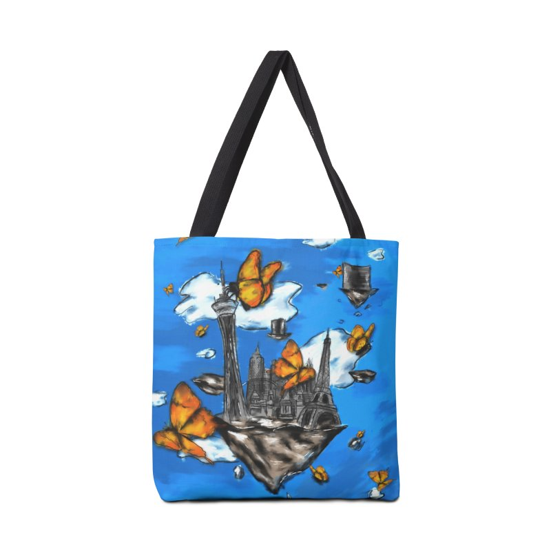 Life is Beautiful Accessories Bag by Brandon Waite - Artist Shop