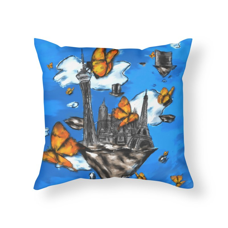 Life is Beautiful Home Throw Pillow by Brandon Waite - Artist Shop