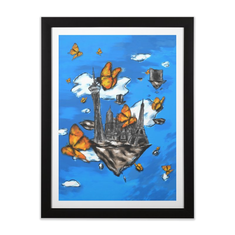 Life is Beautiful in Framed Fine Art Print Black by Brandon Waite - Artist Shop