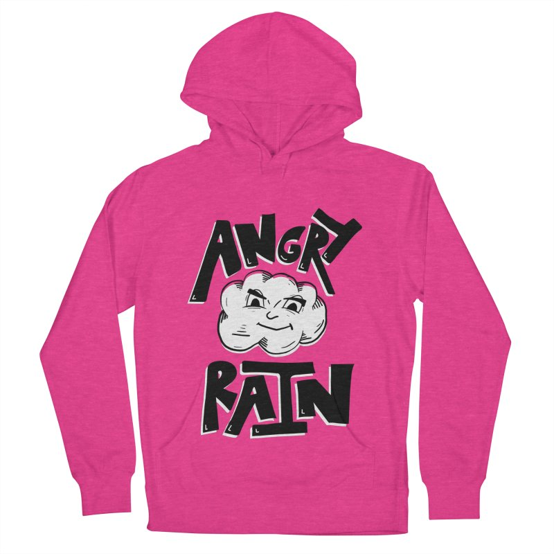 Angry Rain Women's French Terry Pullover Hoody by Brandon Waite - Artist Shop