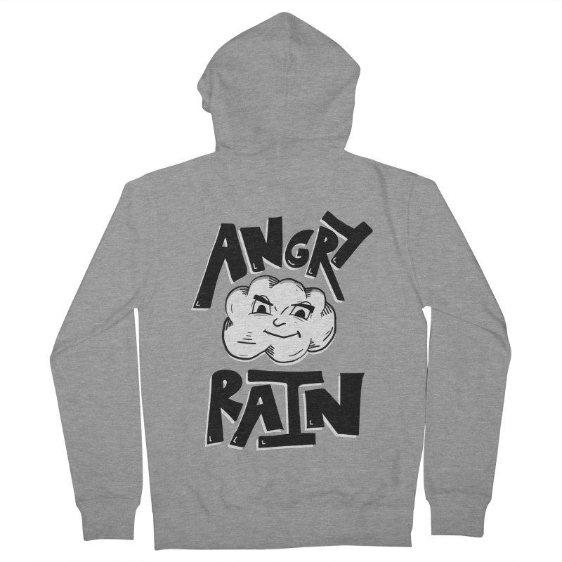 Angry Rain Women's Zip-Up Hoody by Brandon Waite - Artist Shop