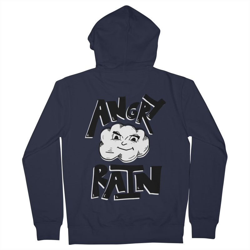 Angry Rain Women's Zip-Up Hoody by Brandon Waite - Artist Shop