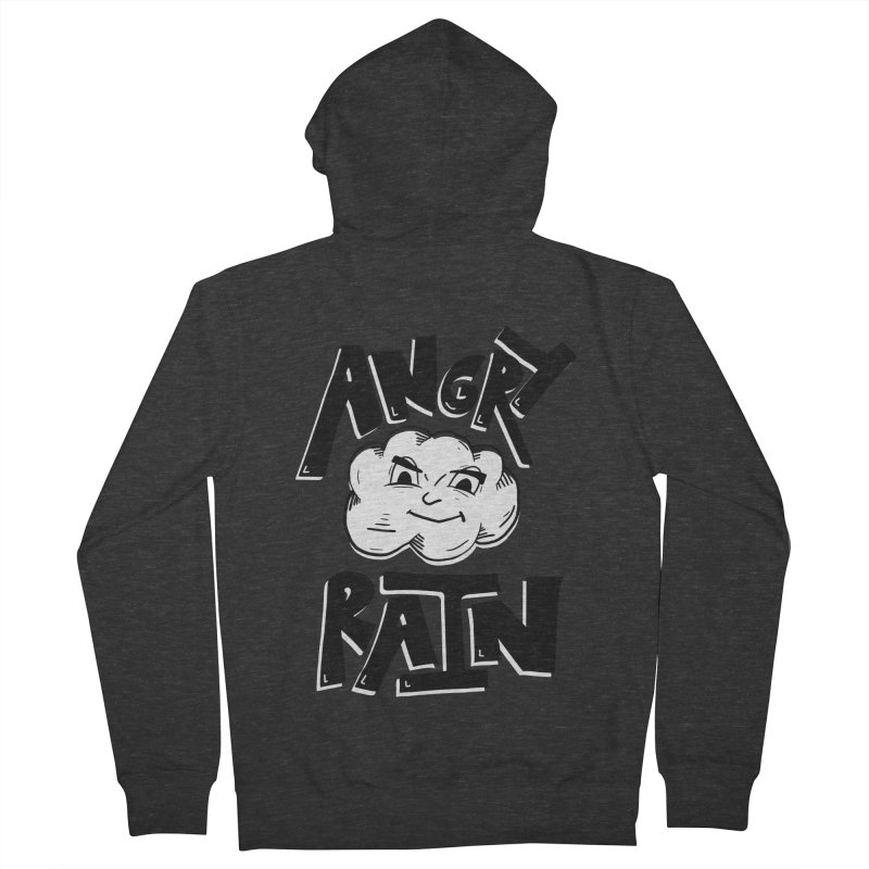 Angry Rain Men's Zip-Up Hoody by Brandon Waite - Artist Shop