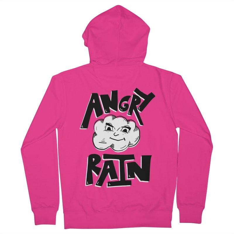 Angry Rain Men's Zip-Up Hoody by Brandon Waite - Artist Shop