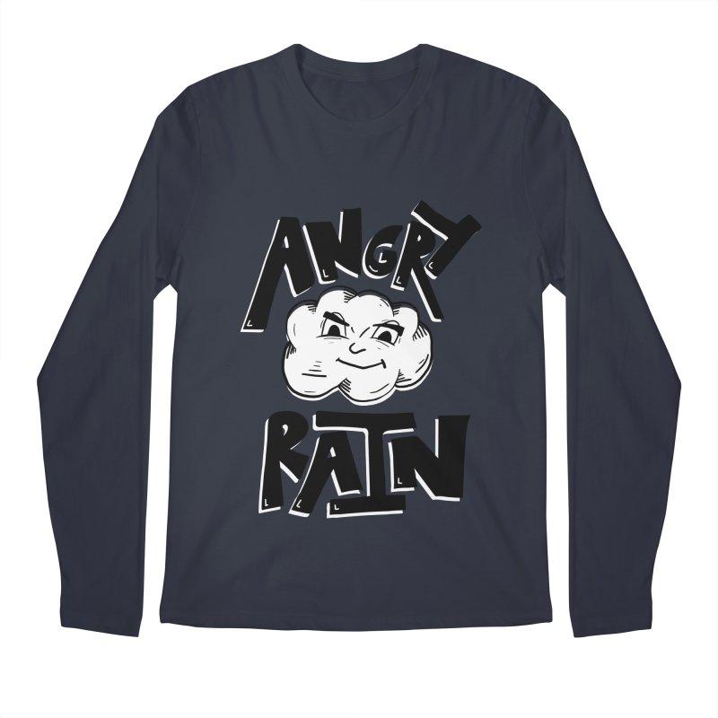 Angry Rain Men's Longsleeve T-Shirt by Brandon Waite - Artist Shop