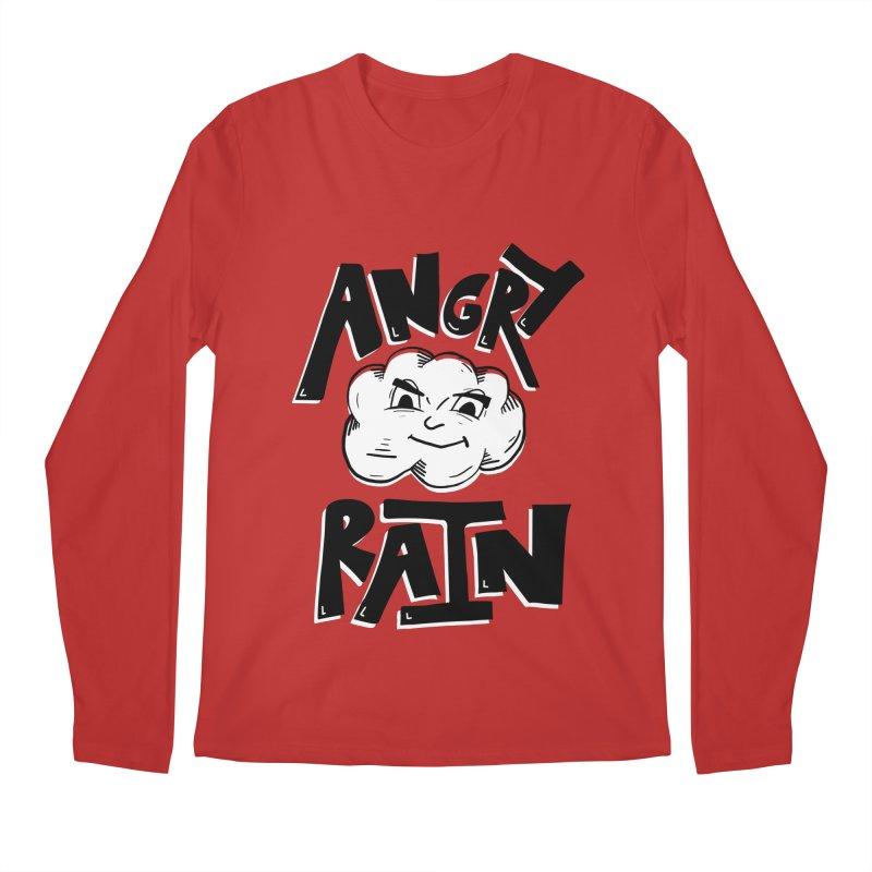 Angry Rain Men's Regular Longsleeve T-Shirt by Brandon Waite - Artist Shop