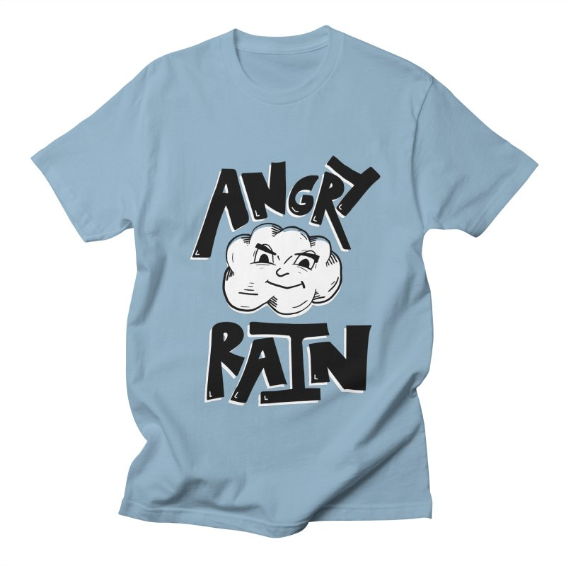 Angry Rain Men's T-Shirt by Brandon Waite - Artist Shop