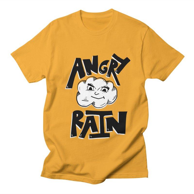 Angry Rain Men's Regular T-Shirt by Brandon Waite - Artist Shop