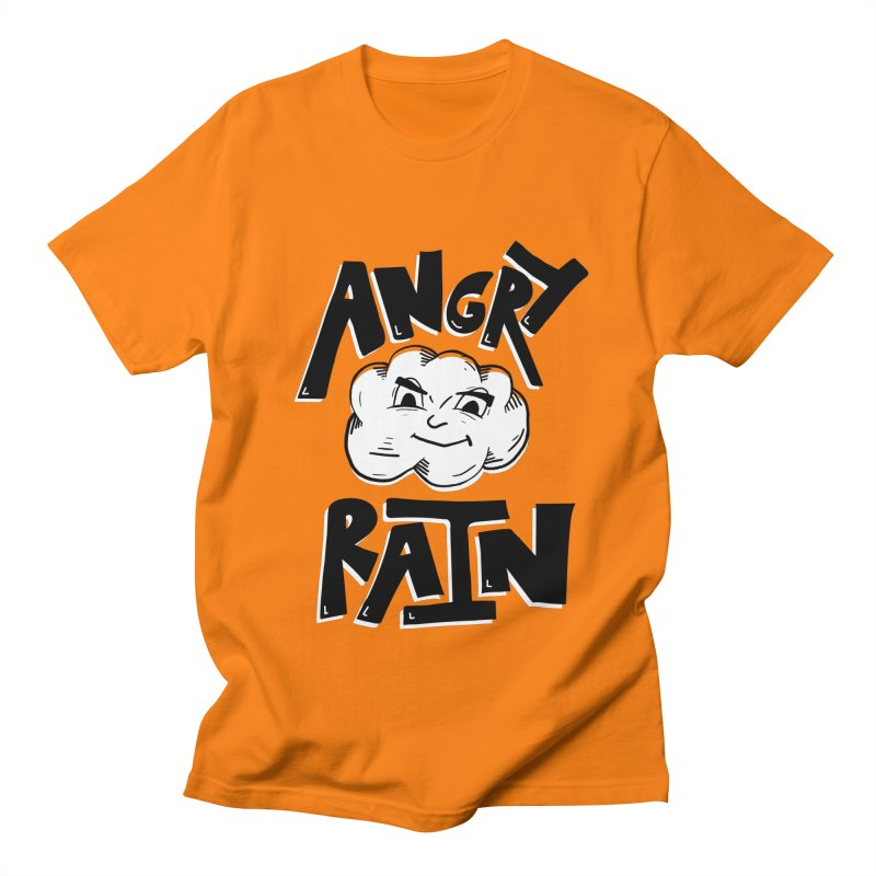 Angry Rain Men's Regular T-Shirt by Brandon Waite - Artist Shop