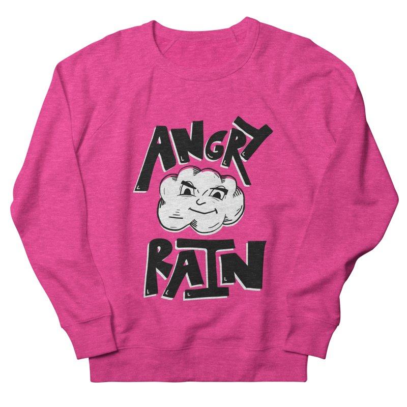 Angry Rain Women's French Terry Sweatshirt by Brandon Waite - Artist Shop