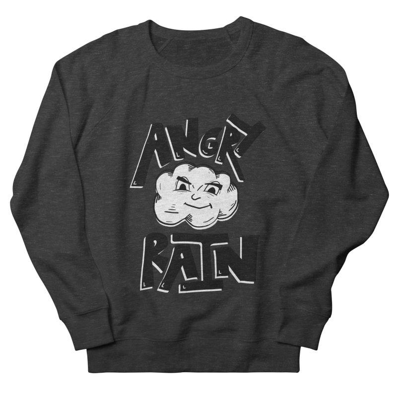 Angry Rain Men's French Terry Sweatshirt by Brandon Waite - Artist Shop
