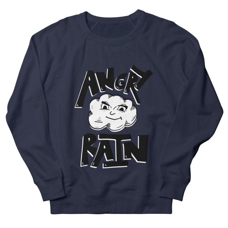 Angry Rain Men's French Terry Sweatshirt by Brandon Waite - Artist Shop