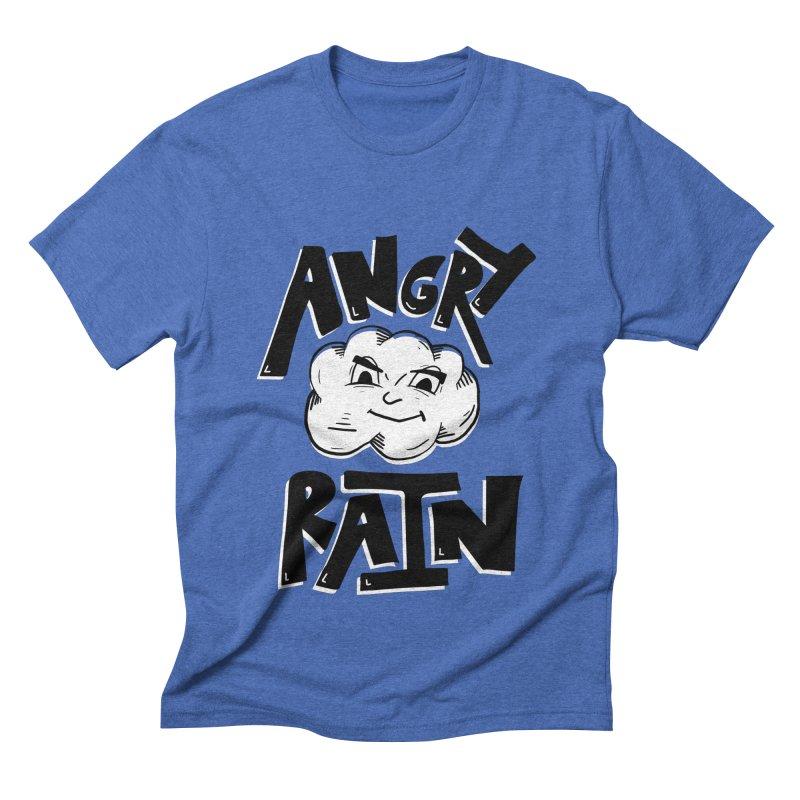 Angry Rain Men's Triblend T-Shirt by Brandon Waite - Artist Shop