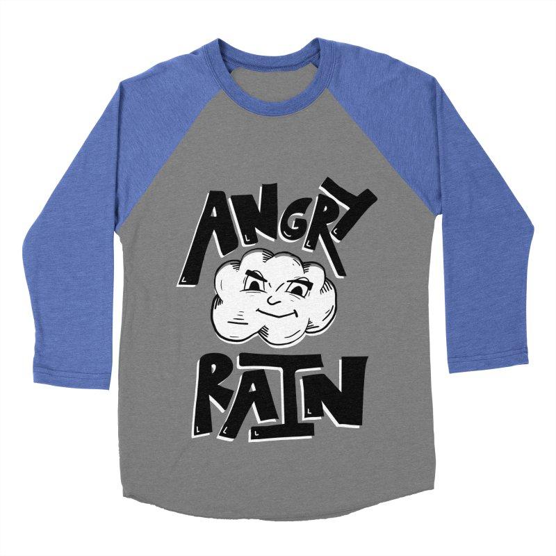Angry Rain Women's Baseball Triblend T-Shirt by Brandon Waite - Artist Shop
