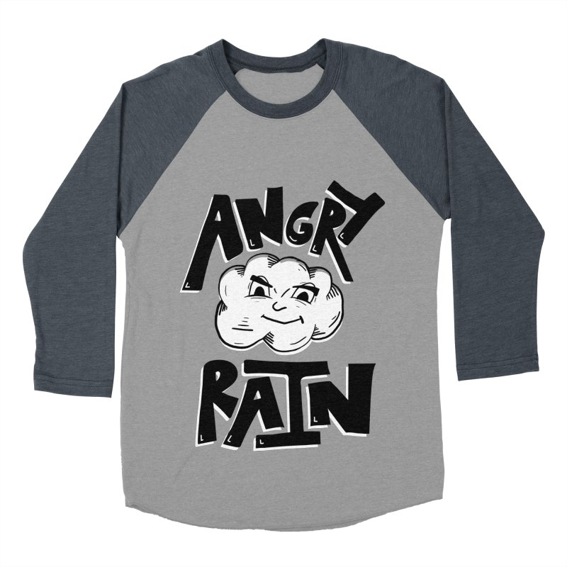 Angry Rain Women's Baseball Triblend T-Shirt by Brandon Waite - Artist Shop