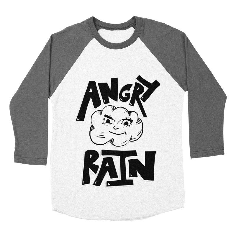 Angry Rain Men's Baseball Triblend T-Shirt by Brandon Waite - Artist Shop