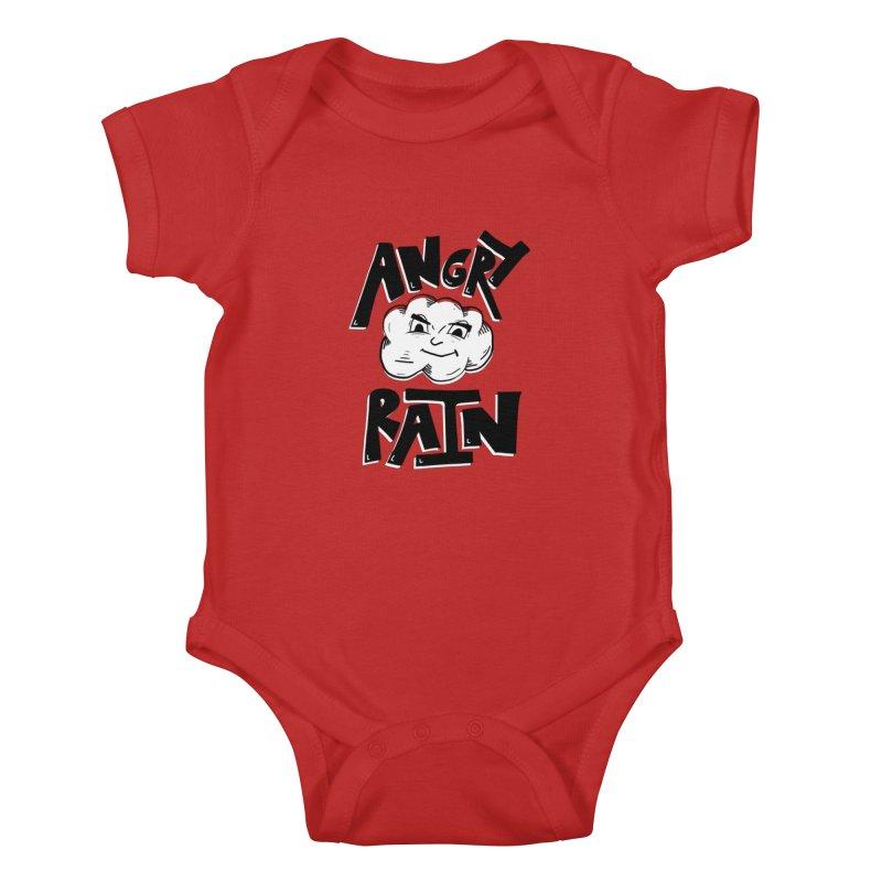 Angry Rain Kids Baby Bodysuit by Brandon Waite - Artist Shop