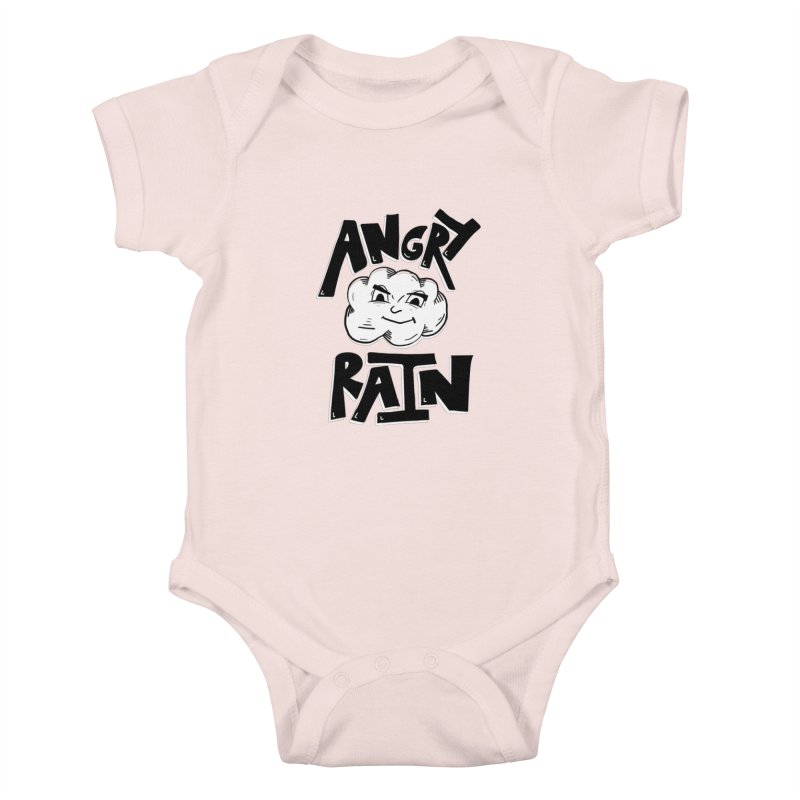 Angry Rain Kids Baby Bodysuit by Brandon Waite - Artist Shop