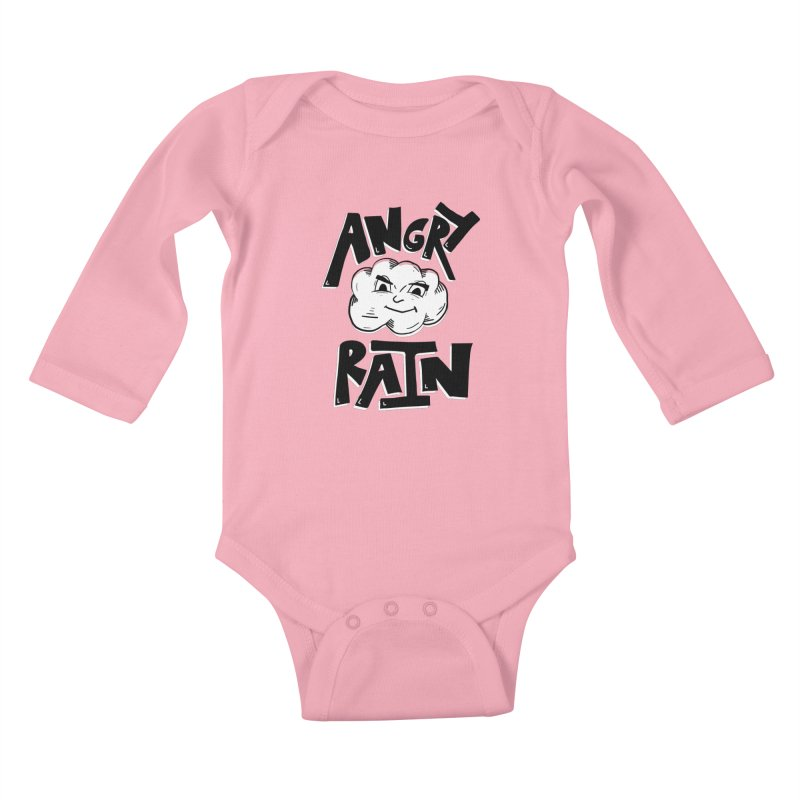 Angry Rain Kids Baby Longsleeve Bodysuit by Brandon Waite - Artist Shop