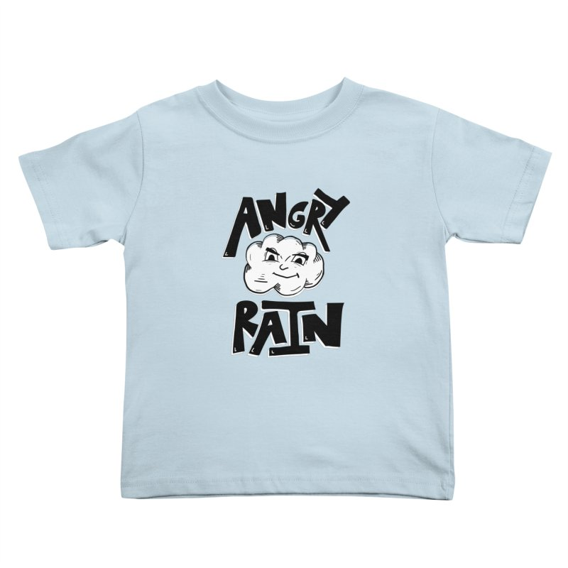 Angry Rain Kids Toddler T-Shirt by Brandon Waite - Artist Shop
