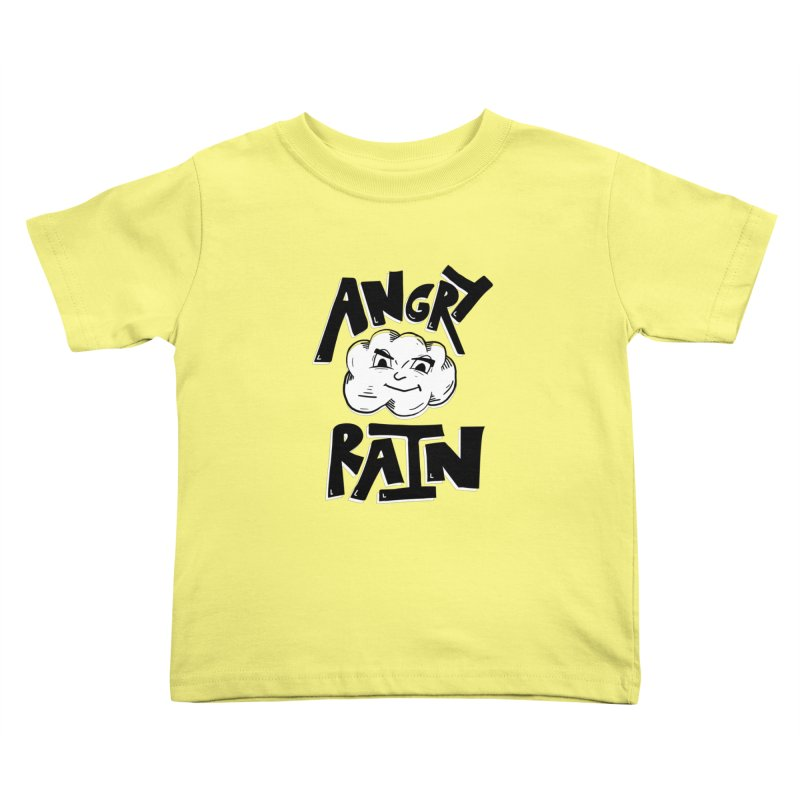 Angry Rain Kids Toddler T-Shirt by Brandon Waite - Artist Shop