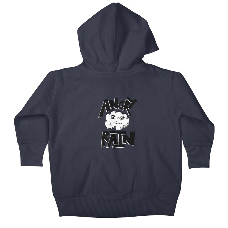 Angry Rain Kids Baby Zip-Up Hoody by Brandon Waite - Artist Shop
