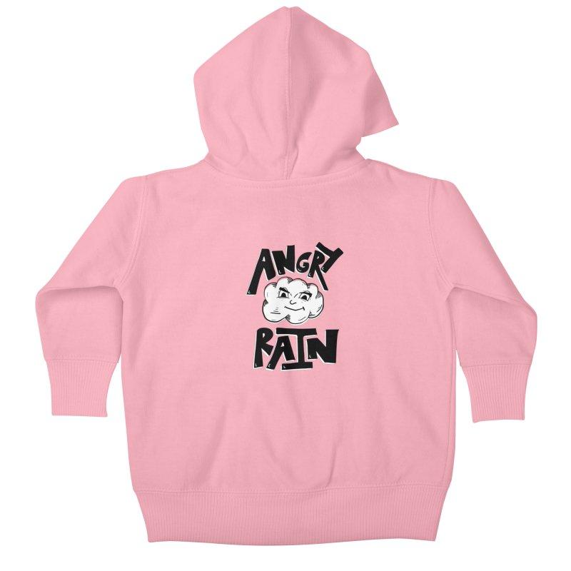 Angry Rain Kids Baby Zip-Up Hoody by Brandon Waite - Artist Shop
