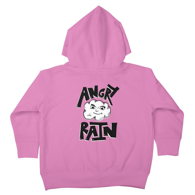 Angry Rain Kids Toddler Zip-Up Hoody by Brandon Waite - Artist Shop