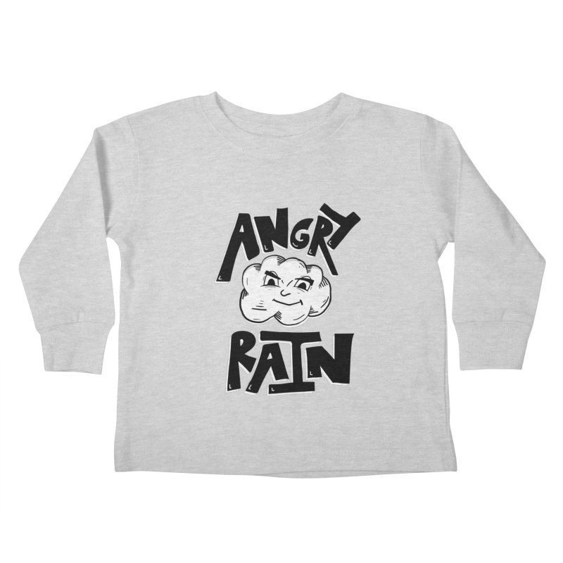 Angry Rain Kids Toddler Longsleeve T-Shirt by Brandon Waite - Artist Shop