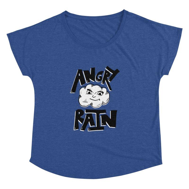 Angry Rain Women's Dolman by Brandon Waite - Artist Shop