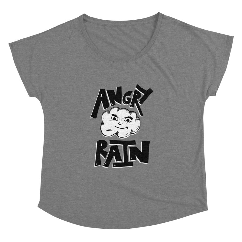 Angry Rain Women's Dolman by Brandon Waite - Artist Shop